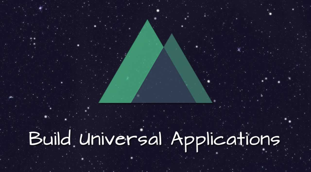 Build Universal Applications with Nuxt js