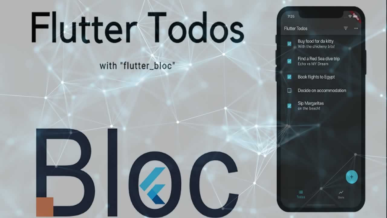 "Flutter Todos Tutorial with ""flutter_bloc"""