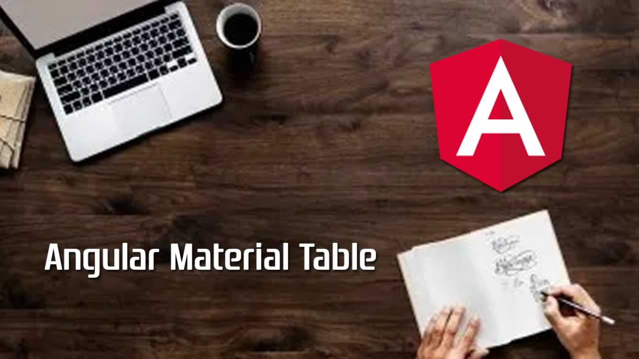 Angular Material Table With Paging, Sorting And Filtering