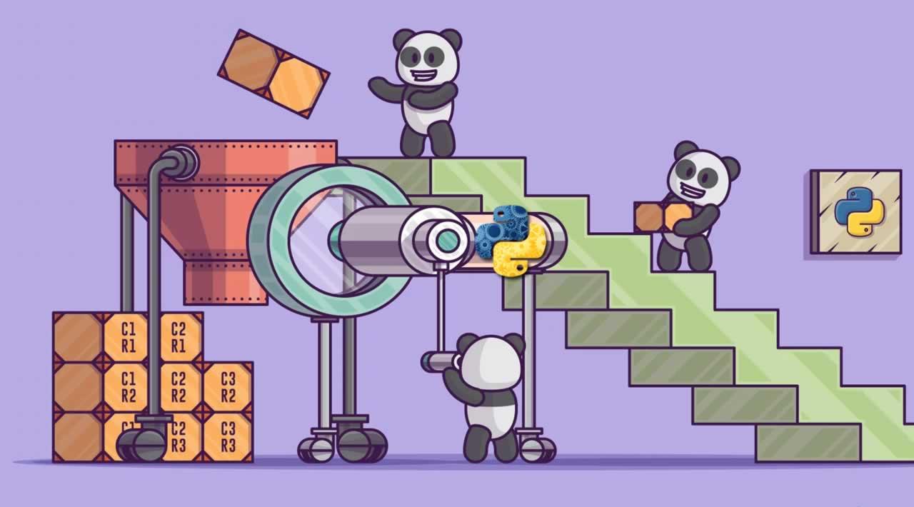 Python data manipulation from Pandas Library