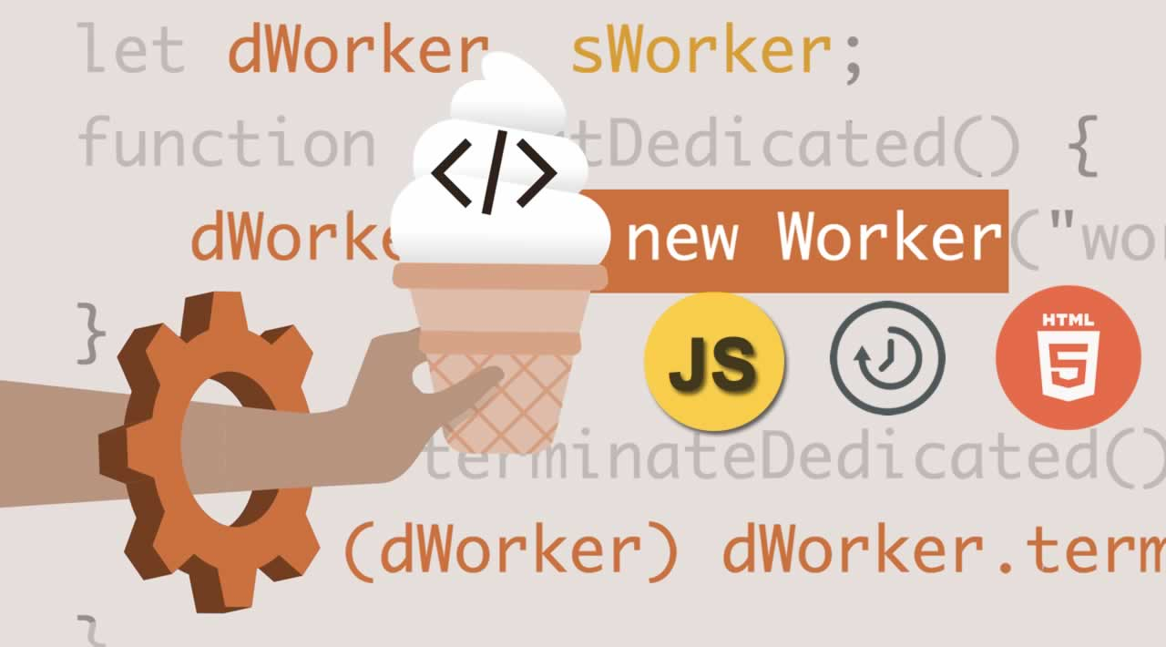 Using Web Workers to Real-time Processing