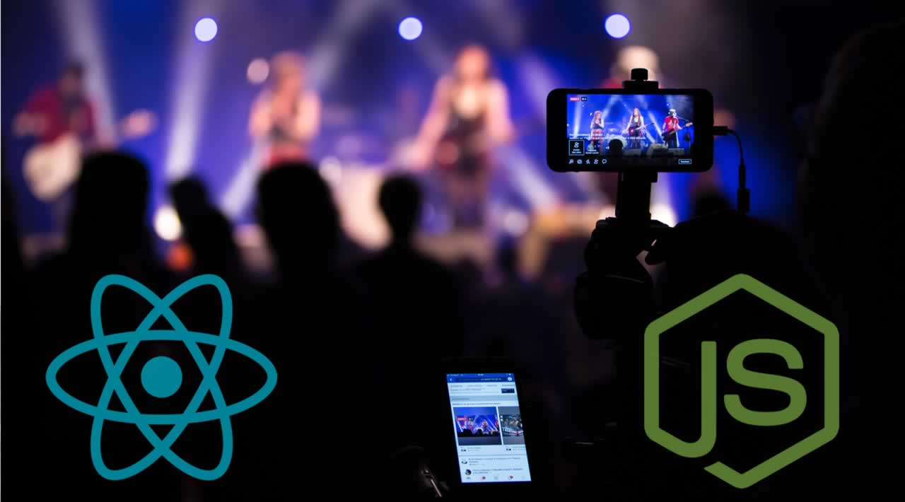 Building Live Streaming App with Node js and React