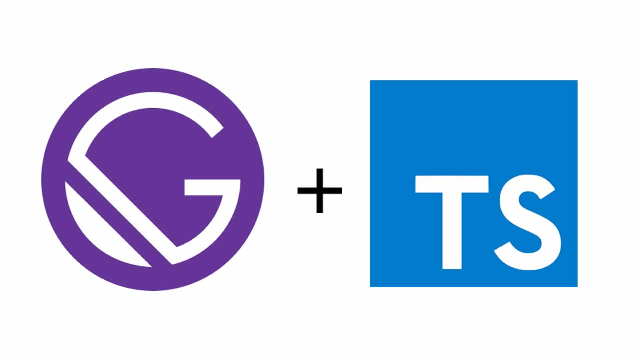 Getting started with Typescript on Gatsby
