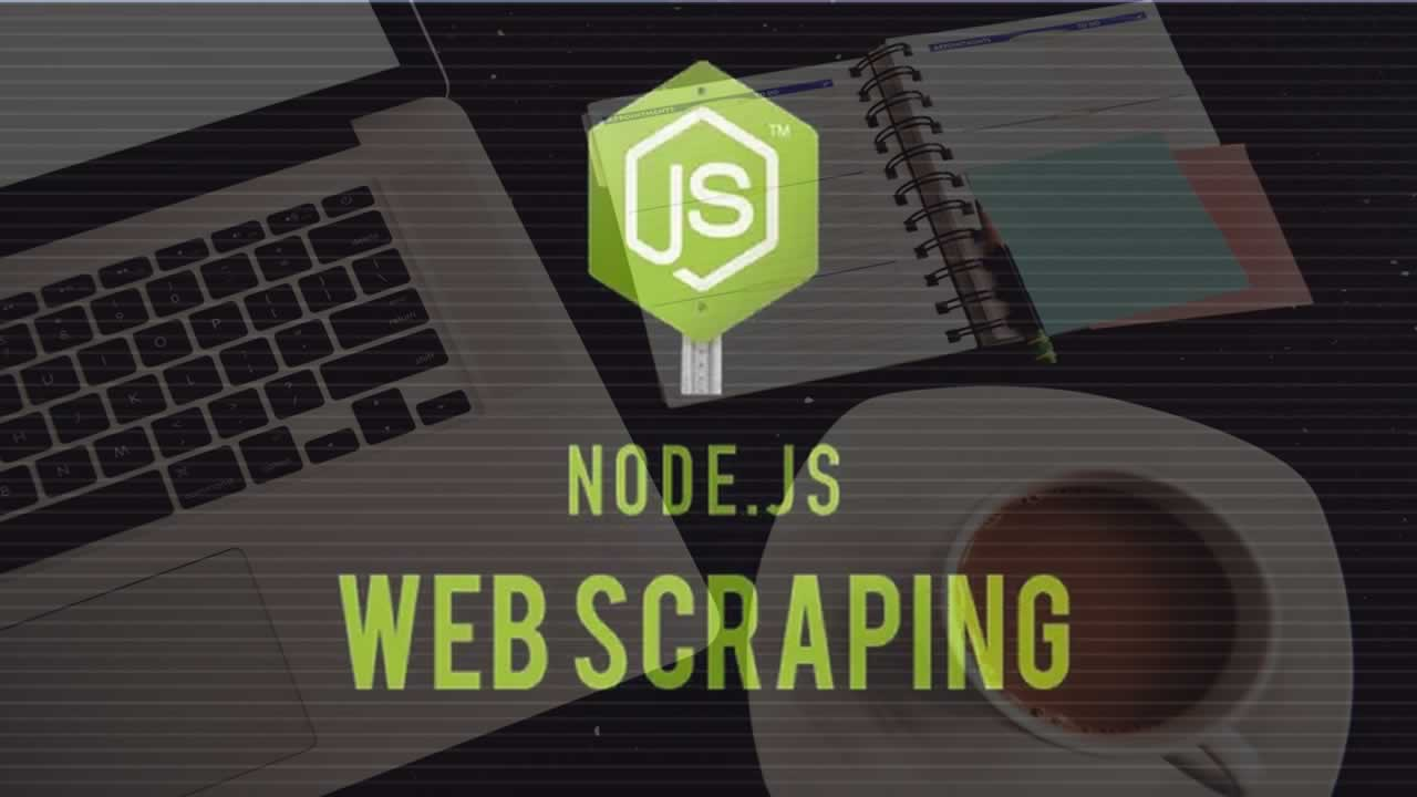Build a web scraper with Node