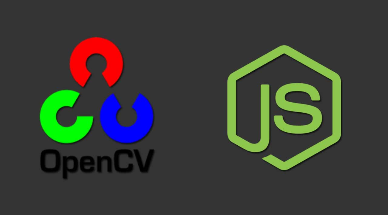 Node js bindings to OpenCV 3 and OpenCV 4