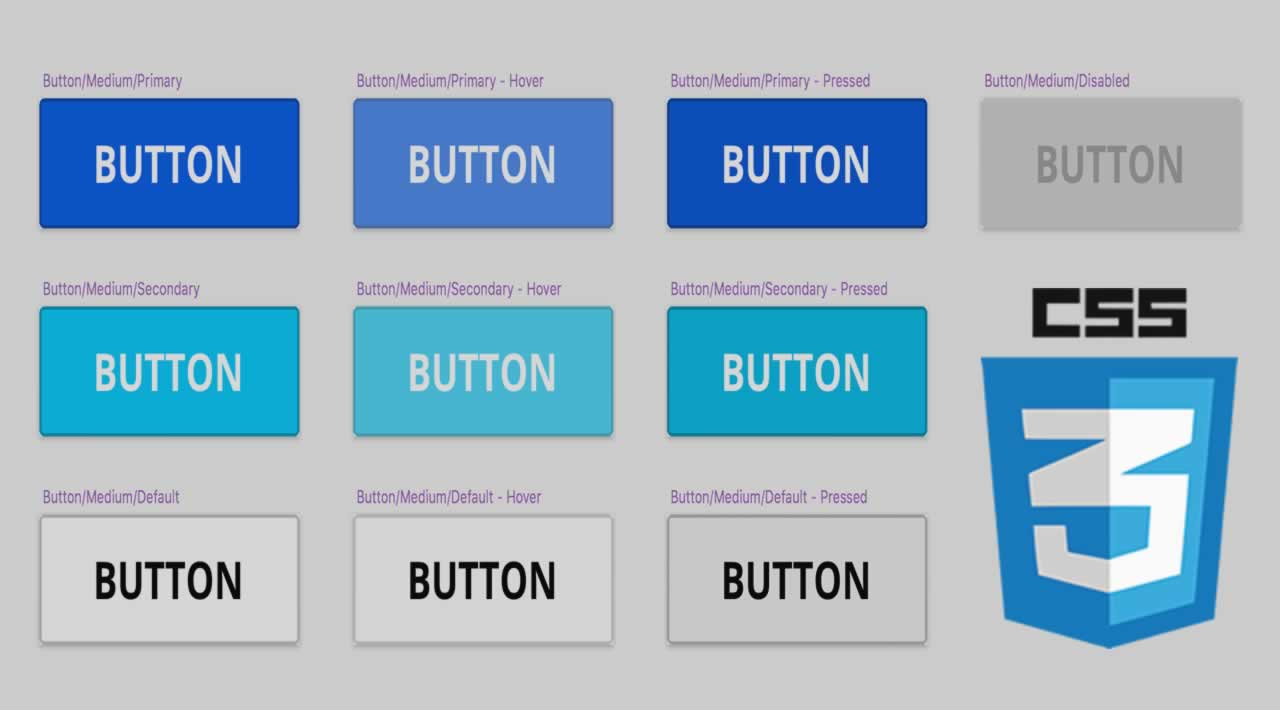 How to Create CSS Ghost Buttons with Icon on Hover
