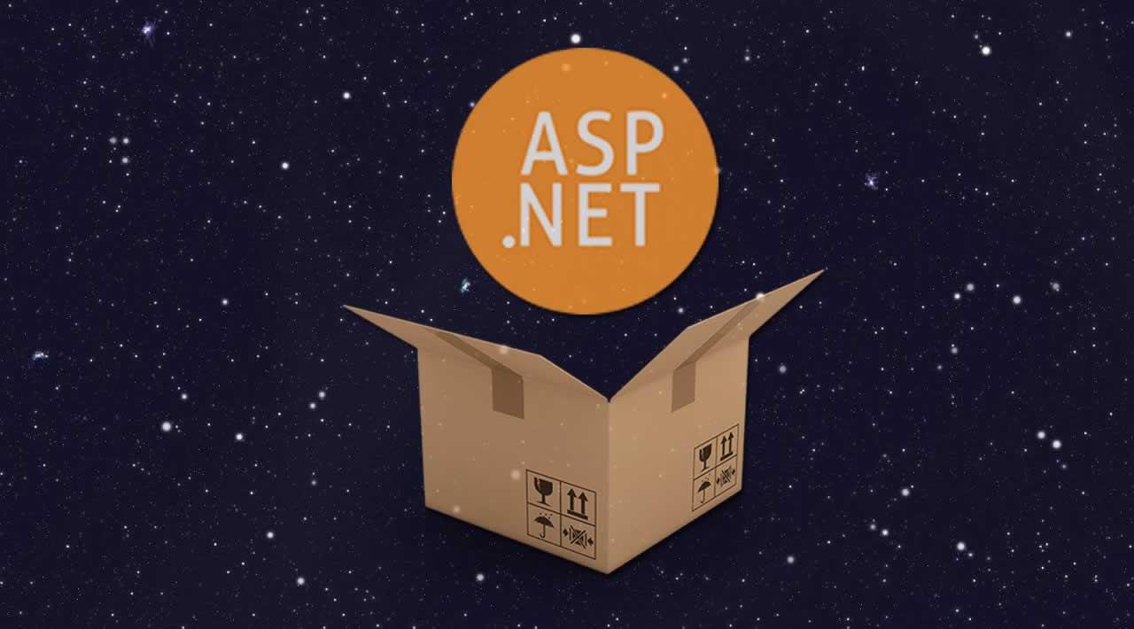 Using Parcel js in an ASP NET Core Application