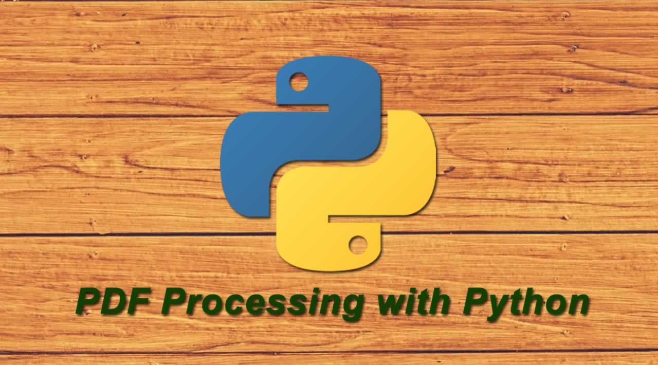 PDF Processing with Python