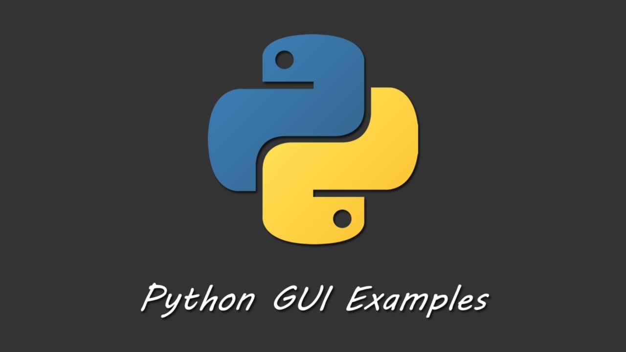 Python Tutorial - Python GUI Programming - Python GUI