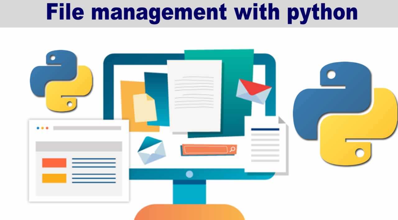 File management with python