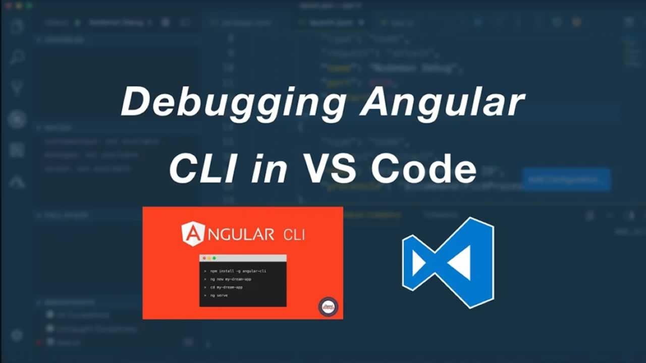 Debugging Angular CLI Applications in Visual Studio Code
